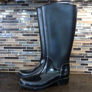 Sam Edelman tall rubber rain boots
